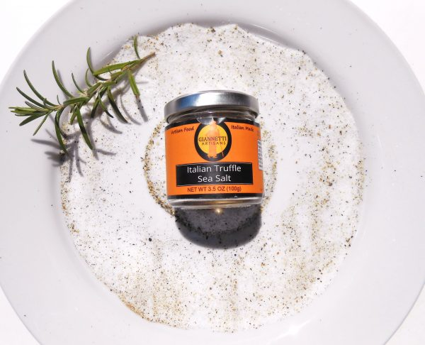 Tuscan Black Truffle Sea Salt