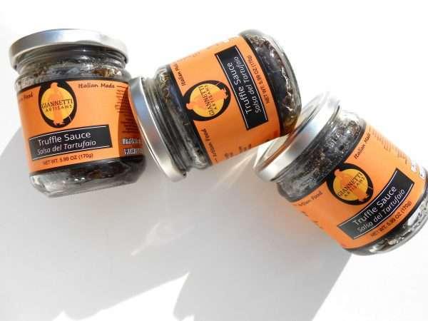 Photo of a jar of Black Truffle Sauce