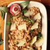 Spelt with pecorino cheese and thyme recipe
