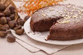 chocolate chestnut flour cake video recipe