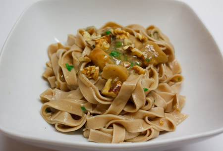 Homemade Chestnut Flour Pasta Recipe