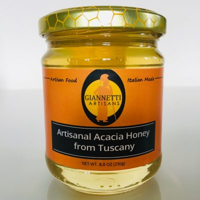 Unpasteurized Acacia Honey from Italy 8.8 oz - Sourced and Imported by Giannetti Artisans directly from Tuscany. Made with Passion!